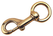 Brass Swivel Snap 2-11/16""