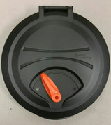 Pelican Kayak Round Quick Lock Hatch Complete. Bright Orange