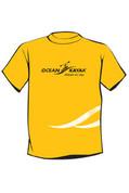Ocean Kayak T-Shirt, Yellow, Size : Med