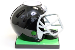 Black Football Helmet Base
