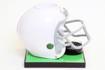 White Football Helmet Base