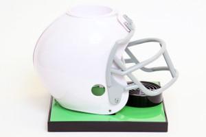 White Football Helmet Base