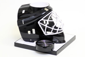 Black Hockey Helmet Base