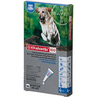 Advantix / K9-Advantix - 4 pack: X-L Dog  55+ lbs (over 25 kg)