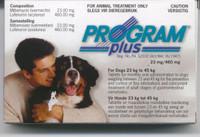Sentinel / Program Plus - 6 pack:X-Large Dog 51-100 lbs (23-45)