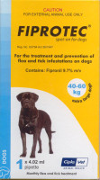 Fiprotec Spot-On - 3 pack: X-Large Dog: 88-132 lbs (40-60 kg)