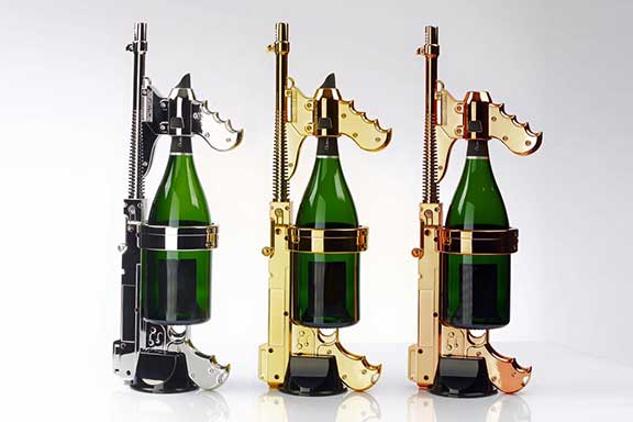 Champagne Gun Color Options