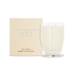 Peppermint Grove Large Candle - Burnt Fig & Pear