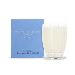Peppermint Grove Large Candle 350g  - Sandalwood & Vetiver