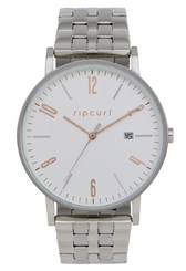 Rip Curl Latch Stainless Steel Watch - SIlver