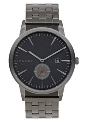 Rip Curl Vision Stainless Steel Watch - Gunmetal