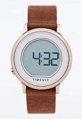 Rip Curl Daybreak Rose Leather Watch - Rose Gold