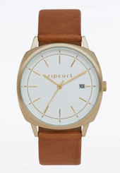 Rip Curl Mali Gold Leather Watch - Gold