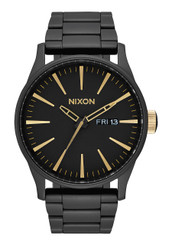 Nixon Sentry SS 42mm - All Black/Gold