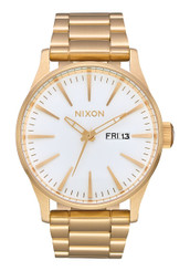 Nixon Sentry SS 42mm - All Gold/White