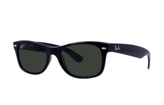 Ray-Ban New Wayfarer Classic Sunglasses - Gloss Black