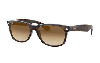 Ray-Ban New Wayfarer Classic Sunglasses - Light Brow Gradiant
