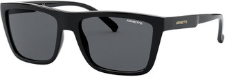 Arnette Deep Ellum - Black/Grey Lenses
