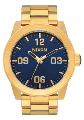 Nixon Corporal SS 48mm - Gold/Blue Sunray/Gold
