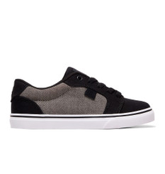 DC Youth Anvil TX SE Shoe - Black/Battleship/Armour