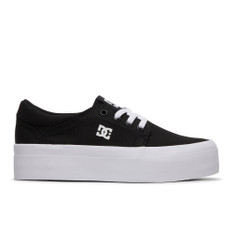 DC Girls Trase Platform TX Shoe - Black/White