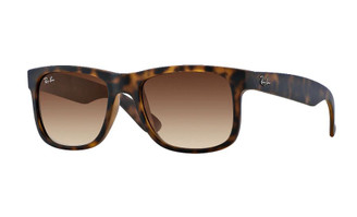 Ray-Ban Justin Classic - Tortoise/Brown Gradient