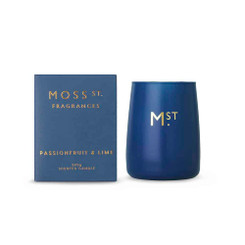Moss St Soy Candle - Passionfruit & Lime