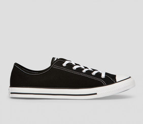 Converse Chuck Taylor All Star Dainty Canvas Low Top - Black