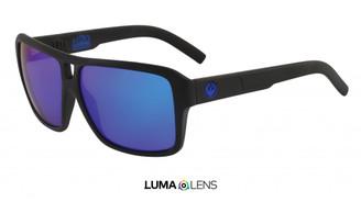 Dragon The Jam - Matte Black H2O w/ LumaLens Blue Ion Polar