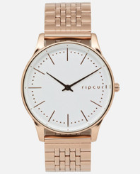 Rip Curl Supreme Slim Rose Gold Stainless Steel Watch - Rose Gold