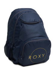 Roxy Shadow Swell Printed 24L Medium Backpack - Mood Indigo.
