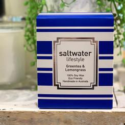 Saltwater Lifestyle Candle - Green Tea & Lemon Grass