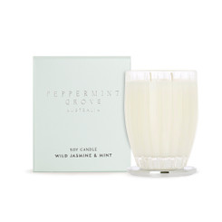 Peppermint Grove Large Candle 350g - Wild Jasmine & Mint