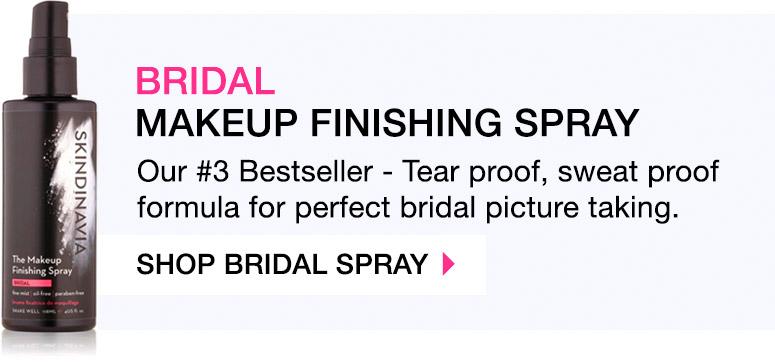 makeup setting spray bridal