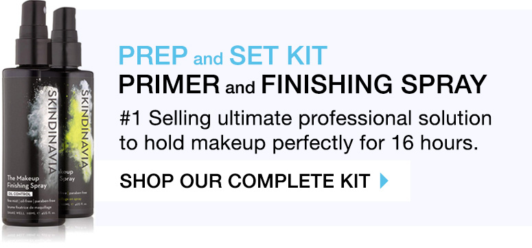 makeup setting spray artist kit