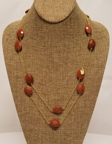 Goldstone Long Chain (Gold)