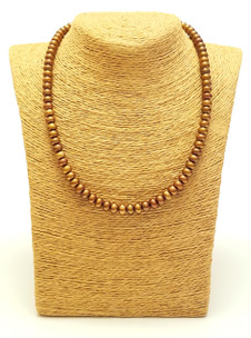 Brown Freshwater Pearl Necklace