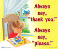 Abeka Always Say Thank You Bible Song