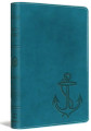 Bible ESV Compact Ocean Anchor TruTone