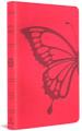 Bible ESV Thinline Butterfly Blush Pink TruTone