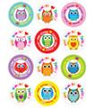 """Owl"" Always Love Jesus! Shape Stickers"