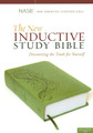 NASB New Inductive Study Bible Green Milano Softone