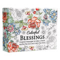 Coloring Cards - Colorful Blessings: Cards to Color and Share