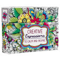 Coloring Cards - Creative Expressions: Cards to Color and Share