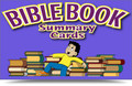 Bible Study Guide Summary Cards Large Color (8 1/2 x 11)