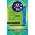 Bible KJV Kids Study Bible Green/Blue