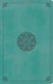 Bible ESV Thinline Trutone Turquoise Emblem