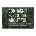 PIO God Hasn't Forgotton