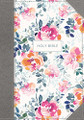 Bible KJV Journal the Word Cloth over Board Pink Floral