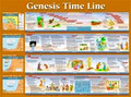 Genesis Time Line Wall Chart - Laminated
